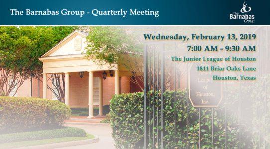 Quarterly Meeting – Houston February 1Q 2019