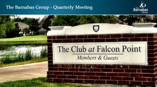 Quarterly Meeting West Houston/Katy – February 1Q 2020