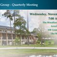 Quarterly Meeting The Woodlands – November 4Q 2019