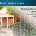 Quarterly Meeting Houston – November 4Q 2019