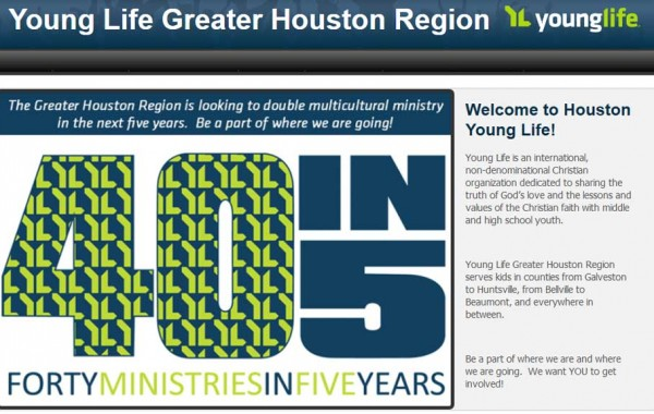 Young Life, Greater Houston Region